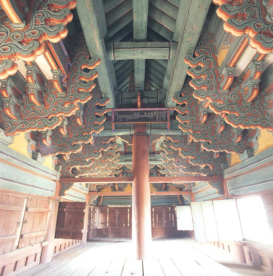 서울 흥인지문 상층 내부