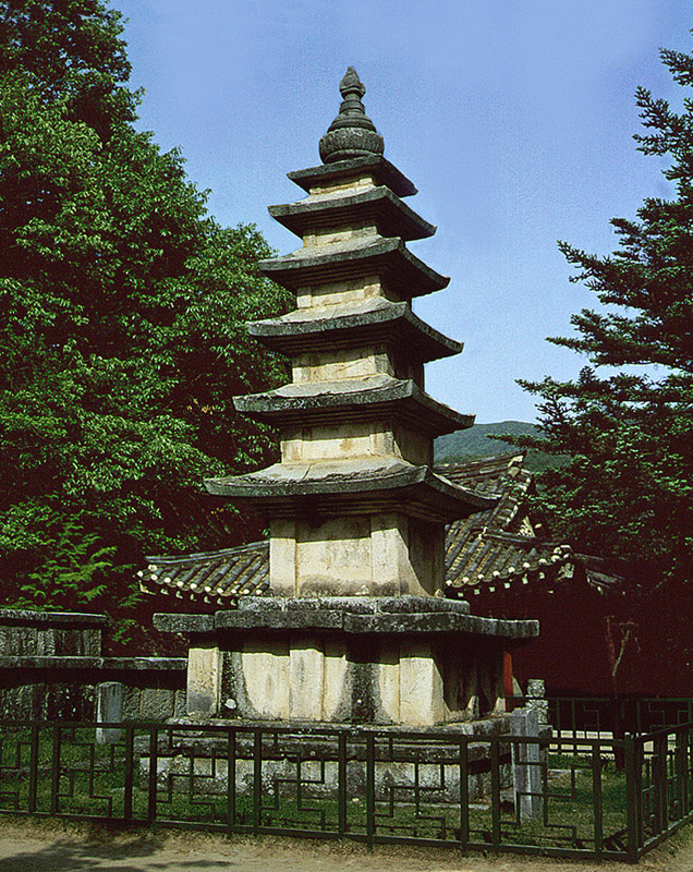 Five Storied Stone Pagoda in Geumsansa Temple