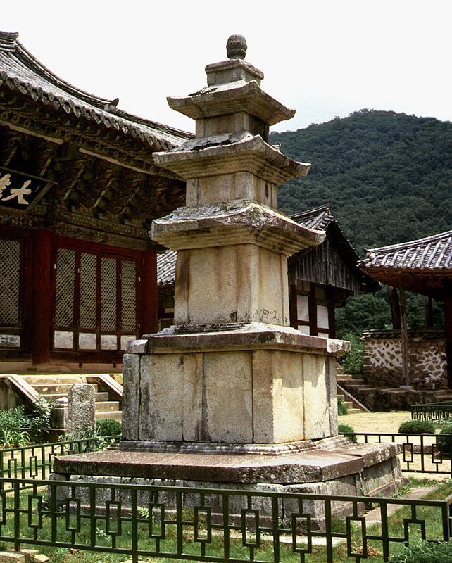 Three storied stone pagodas of Seonamsa Temple