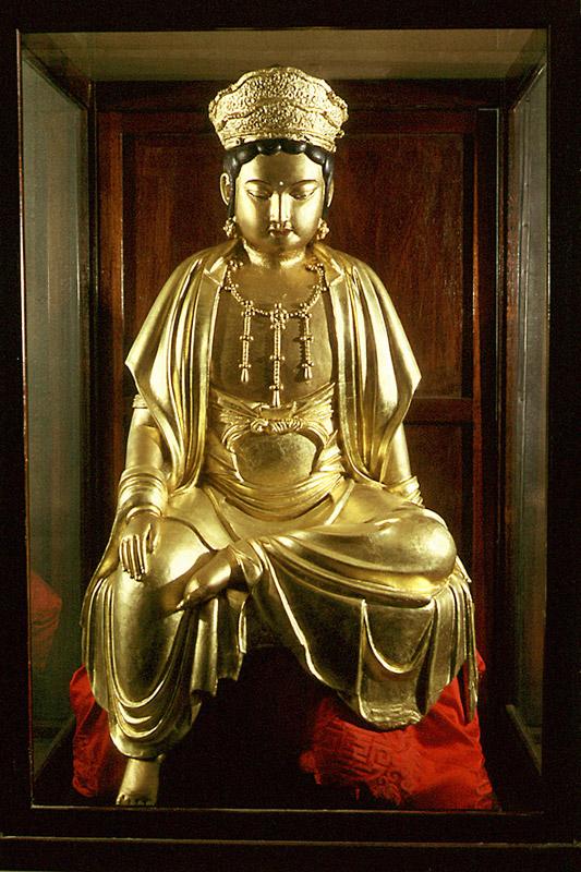 Girimsageonchilbosaljwasang(Lacquered Avalokitesvara bodhsiattva of Girimsa Temple)