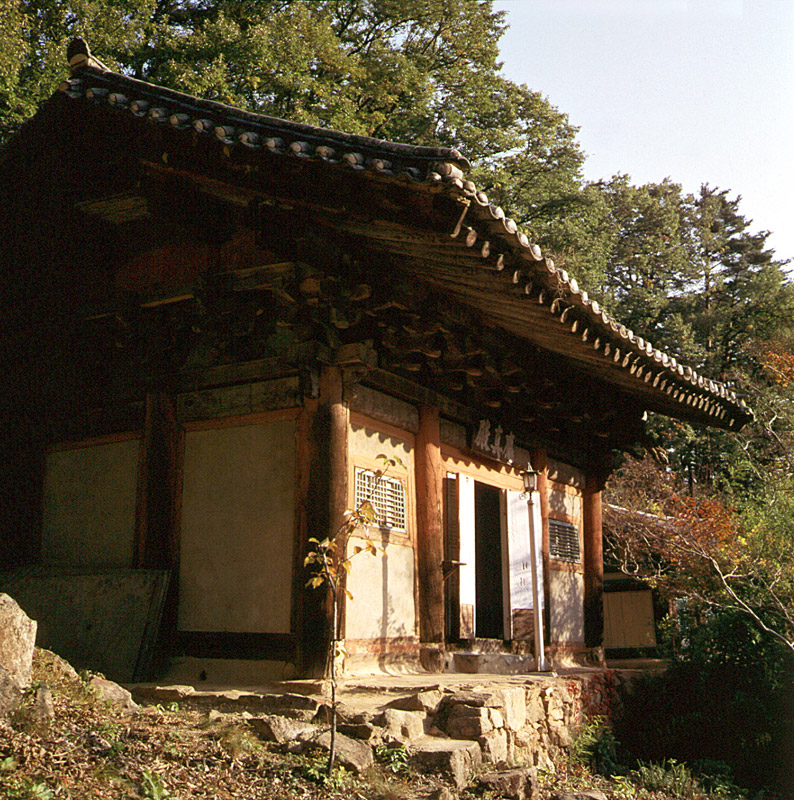 Eungjinjeon Hall of Buryeongsa Temple