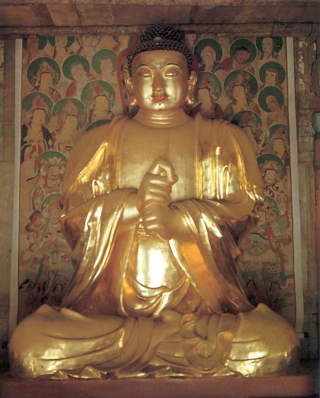 Vairocana buddha (Middle)