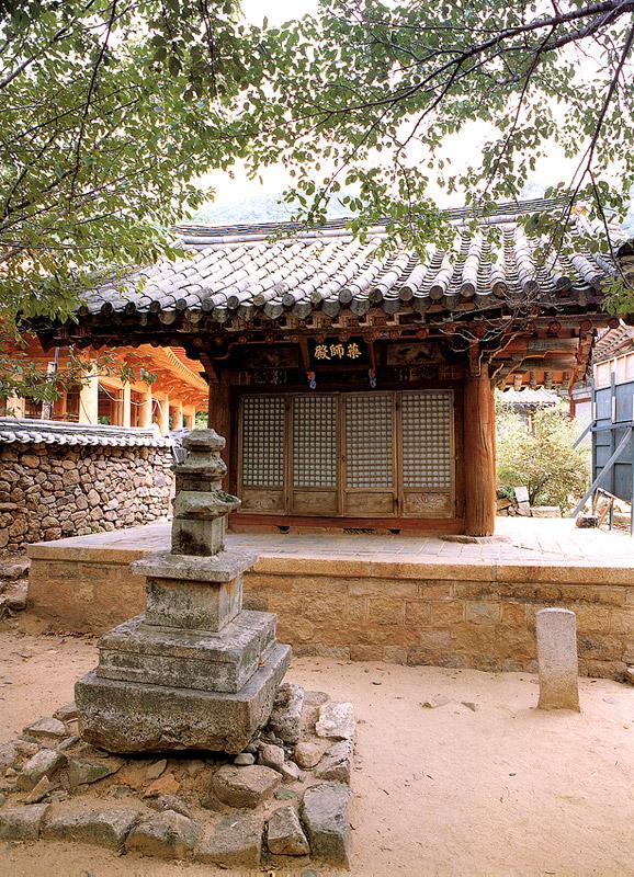 Yaksajeon Hall in Gwallyongsa Temple(the Hall for Bhaisaiyaguru Buddha)