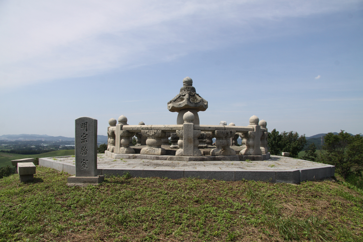 서산 명종대왕 태실 및 비 ( 瑞山 明宗大王 胎室 및 碑 )