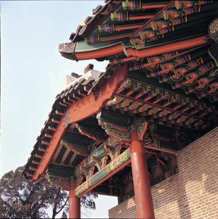 서울 동관왕묘 외부 가구