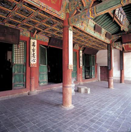 서울 동관왕묘 퇴칸