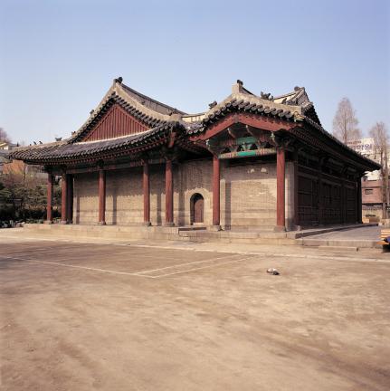서울 동관왕묘 측면