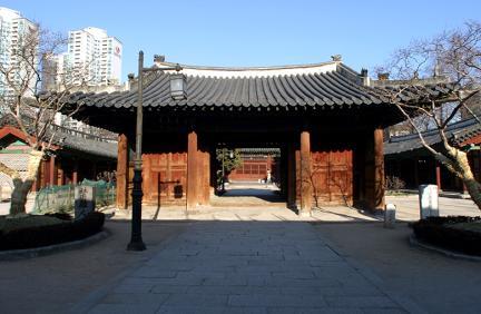 서울 동관왕묘 입구