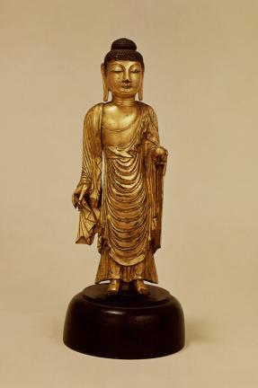 금동약사여래입상(金銅藥師如來立像)
