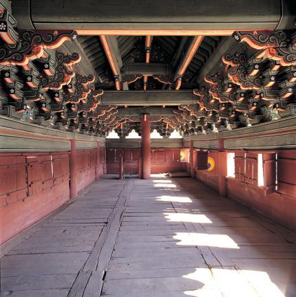 창덕궁 돈화문 2층 내부