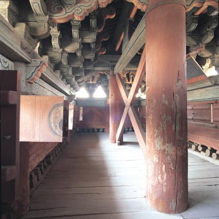 창경궁 홍화문 2층 내부