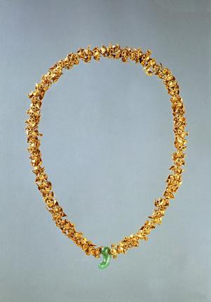 경주 노서동 금목걸이(慶州 路西洞 金製頸飾)
