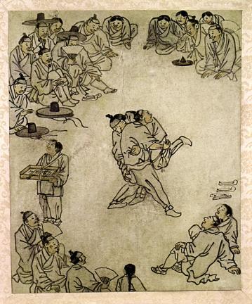 김홍도필 풍속도 화첩(金弘道筆 風俗圖 畵帖)
