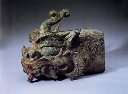 금동용두토수(金銅龍頭吐首)
