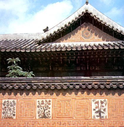 합각벽의무늬와화문장
