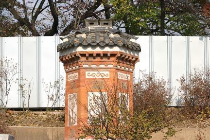 경복궁아미산의굴뚝