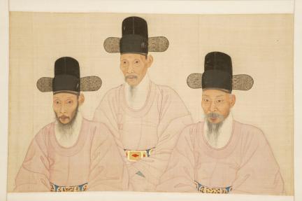 보물 제1478호 조씨삼형제 초상