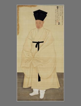 보물 제1487호 서직수 초상