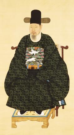보물 제1496호 윤급 초상