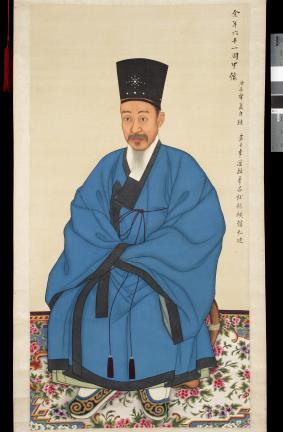 보물 제1499-1호 이하응 초상 일괄(흑건청포본)