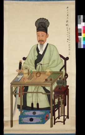 보물 제1499-1호 이하응 초상 일괄(와룡관학창의본)