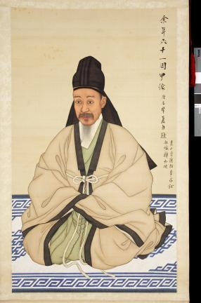 보물 제1499-1호 이하응 초상 일괄(복건심의본)