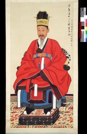 보물 제1499-1호 이하응 초상 일괄(금관조복본)