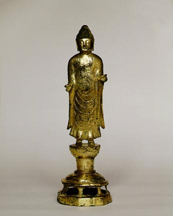 의령 보리사지 금동여래입상(宜寧 菩提寺址 金銅如來立像)