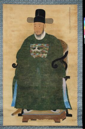 보물 제1501호 이덕성 초상 및 관련자료일괄- 이덕성 초상