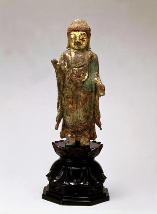 금동여래입상(金銅如來立像)