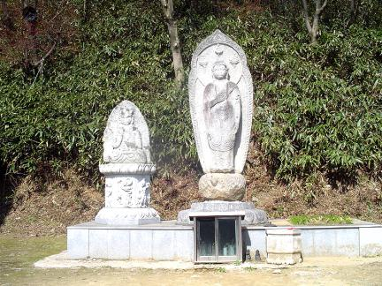 안성봉업사석불입상(2005년현재)