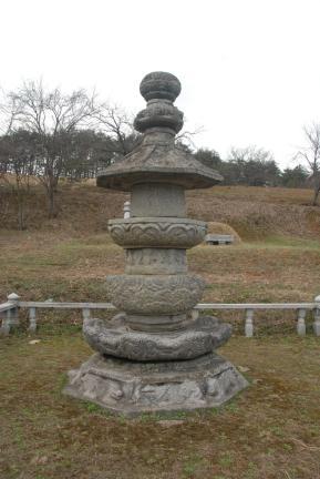 강릉 굴산사지 승탑(촬영:문화재청)