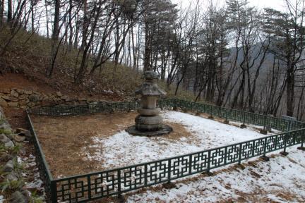 강릉 보현사 낭원대사탑(촬영:문화재청)