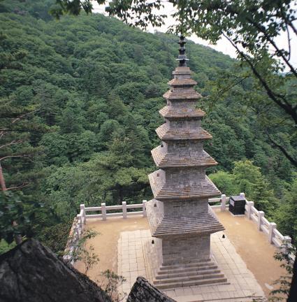 정암사 수마노탑
