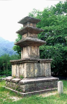 속초 향성사지 삼층석탑