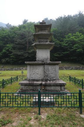 양양 선림원지 삼층석탑 (촬영:문화재청)