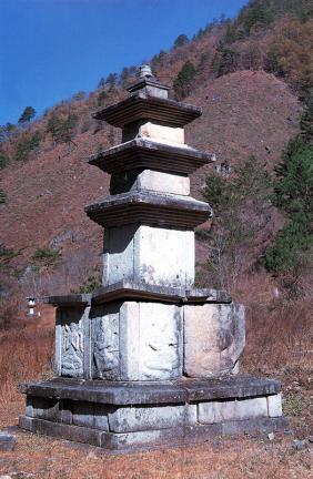 양양 선림원지 삼층석탑
