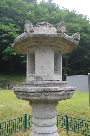 양양 선림원지 석등 (촬영:문화재청)