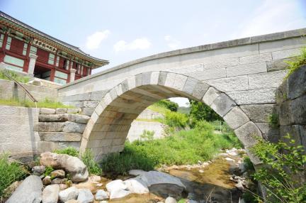 고성 건봉사 능파교 (촬영:문화재청)