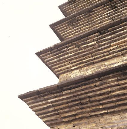 옥개석 층급받침