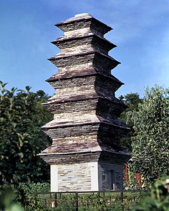 제천 장락동 칠층모전석탑