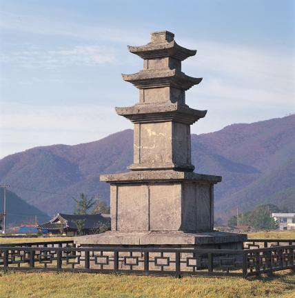 보령 성주사지 서 삼층석탑