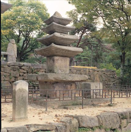 당진 안국사지 석탑