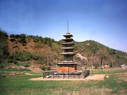 보원사지오층석탑