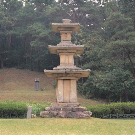 부여 장하리삼층석탑
