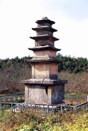 천흥사지오층석탑