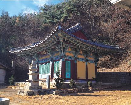 홍성 고산사 대웅전