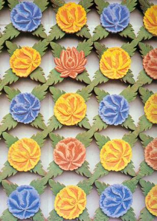 꽃무늬문살