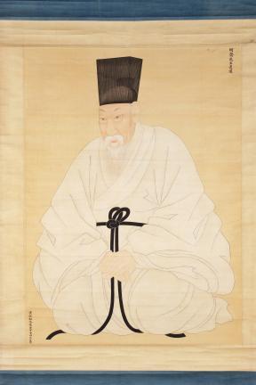 보물 제1495호 윤증 초상 일괄(장경주필)