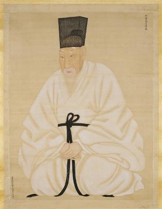 보물 제1495호 윤증 초상 일괄(이명기필신법)